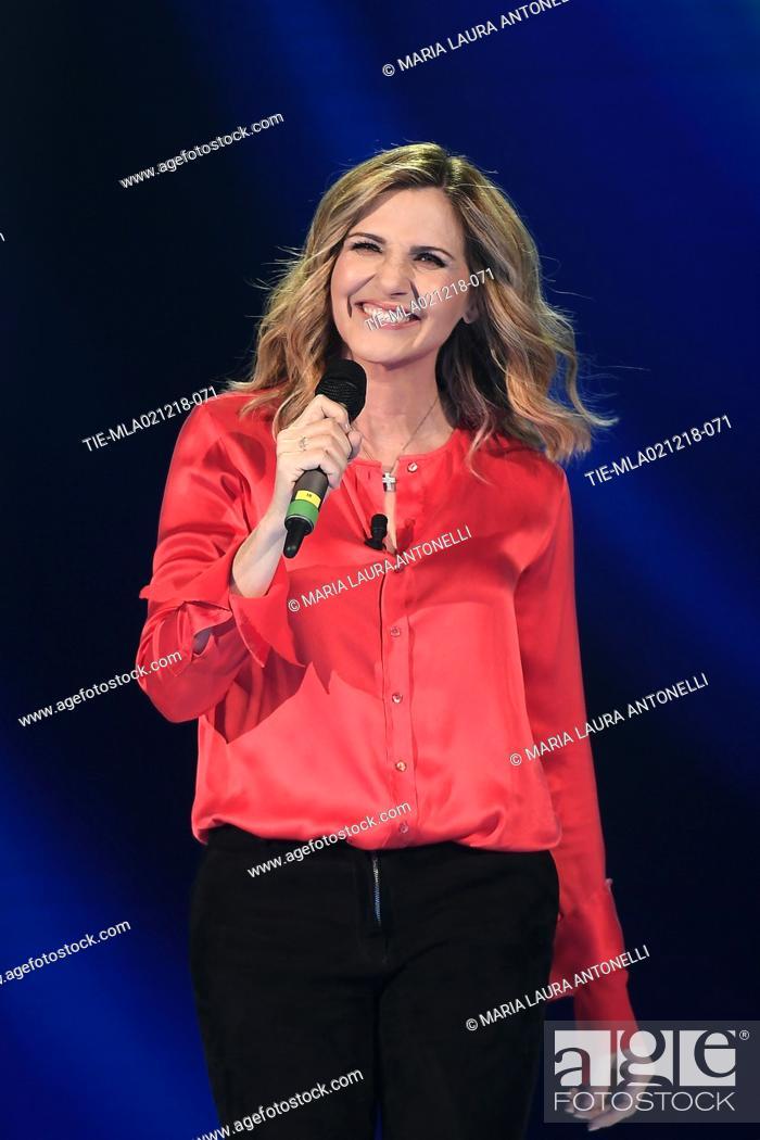 Imagen: Lorella Cuccarini during the tv show Domenica in, Rome, ITALY-02-12-2018.