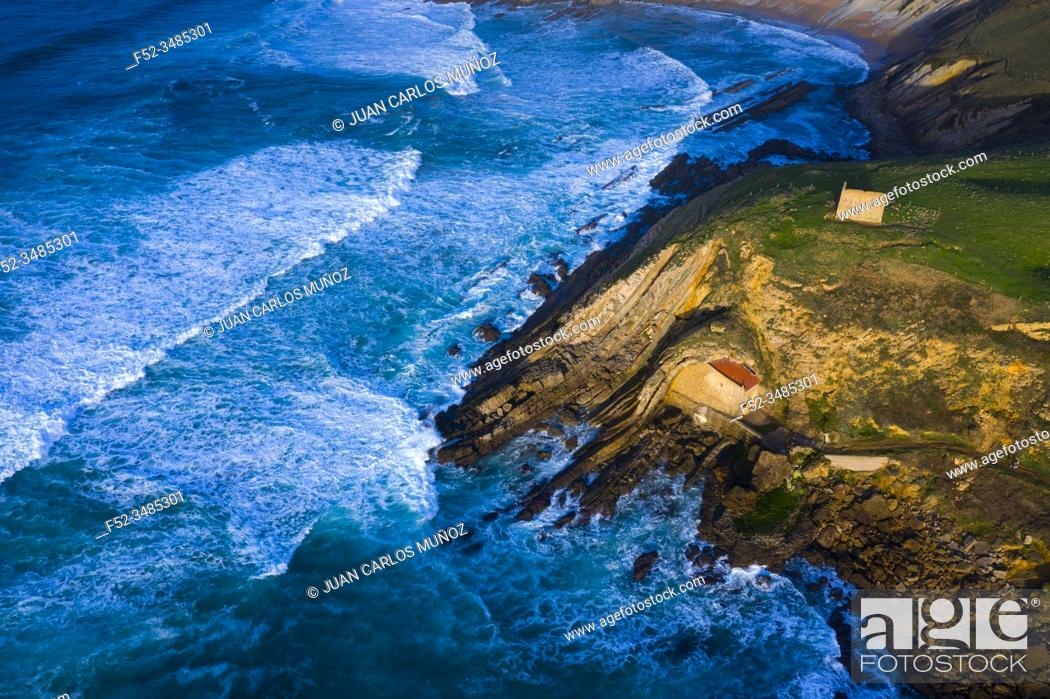 Imagen: Hermitage of Santa Justa, Ubiarco, Municipality of Santillana del Mar, Cantabrian Sea, Cantabria, Spain, Europe.
