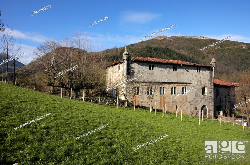 Stock Photo: Lili Palace, Cestona, Zestoa, Gipuzkoa, Guipuzcoa, Basque Country, Spain.