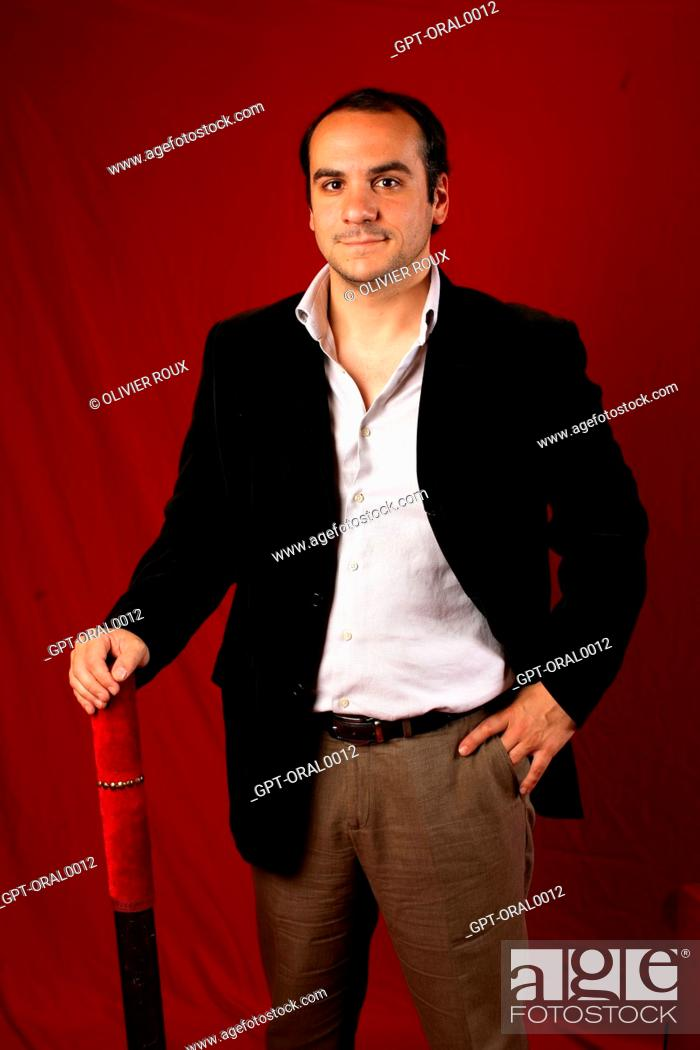 Francois Xavier Demaison Humorist Stock Photo Picture And Rights Managed Image Pic Gpt Oral0012 Agefotostock