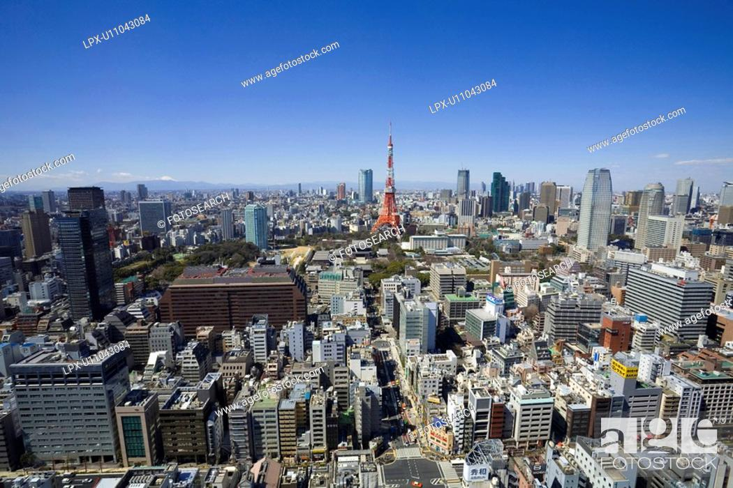 Stock Photo: Tokyo tower.
