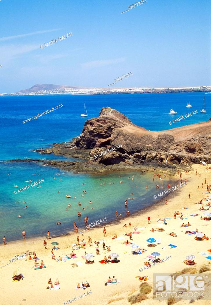 Stock Photo: Papagayo beaches, Lanzarote. Canary Islands, Spain.