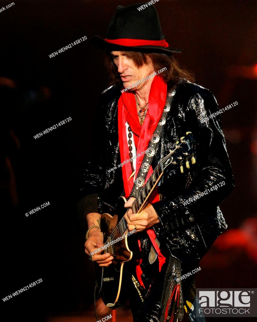 Aerosmith headline the Main Stage on day 3 of Download at