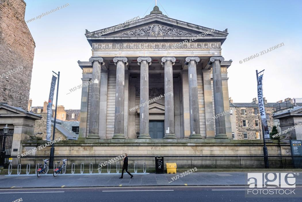 Imagen: Surgeons Hall Museums on Nicolson St in Edinburgh, the capital of Scotland, part of United Kingdom.