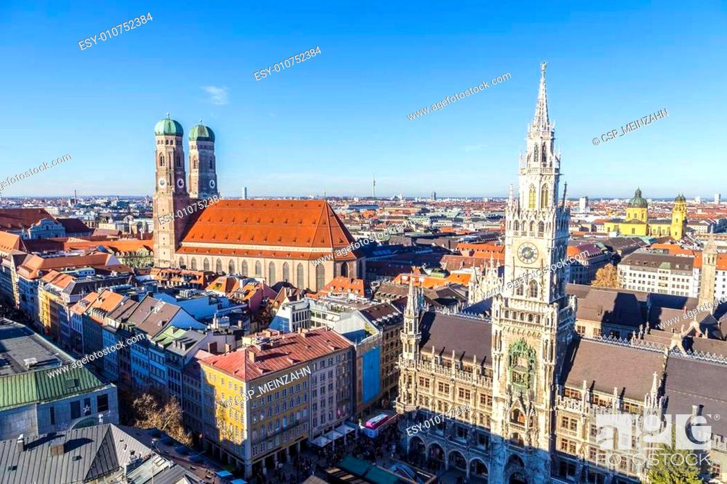 Stock Photo: The Frauenkirche is a church in the Bavarian city of Munich.