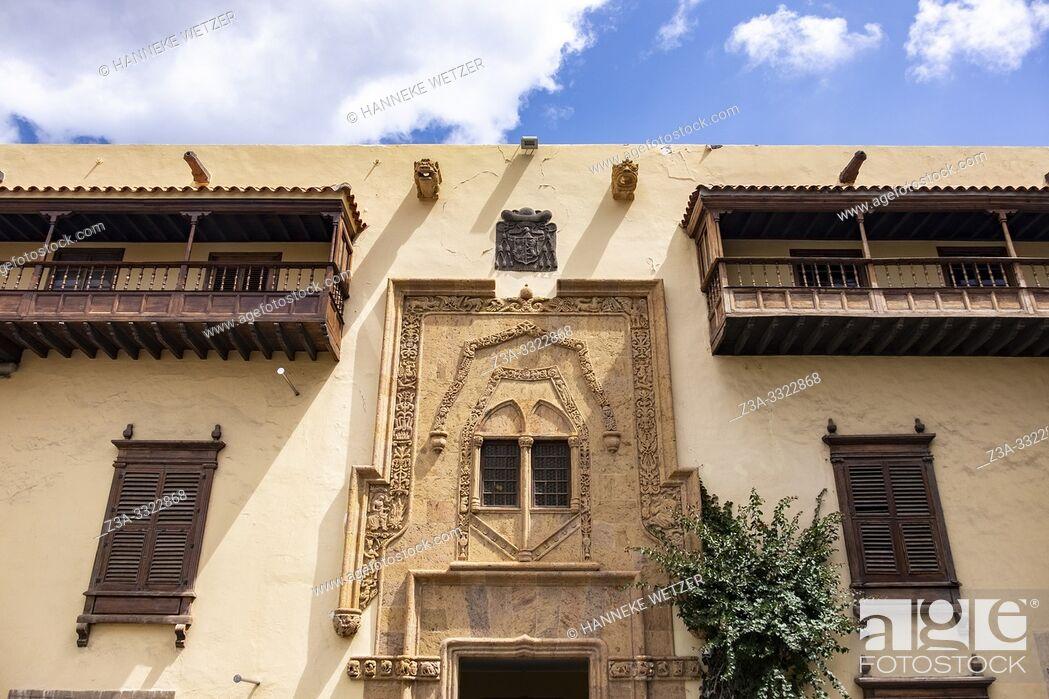 Stock Photo: Columbus House in Vegueta, Las Palmas de Gran Canaria, Canary Islands.