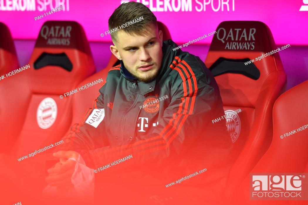Lars Lukas MAI (Bayern Munich), reserve bench, substitute