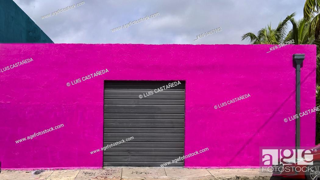 Stock Photo: Wynwood Art District. Miami. Florida. USA.