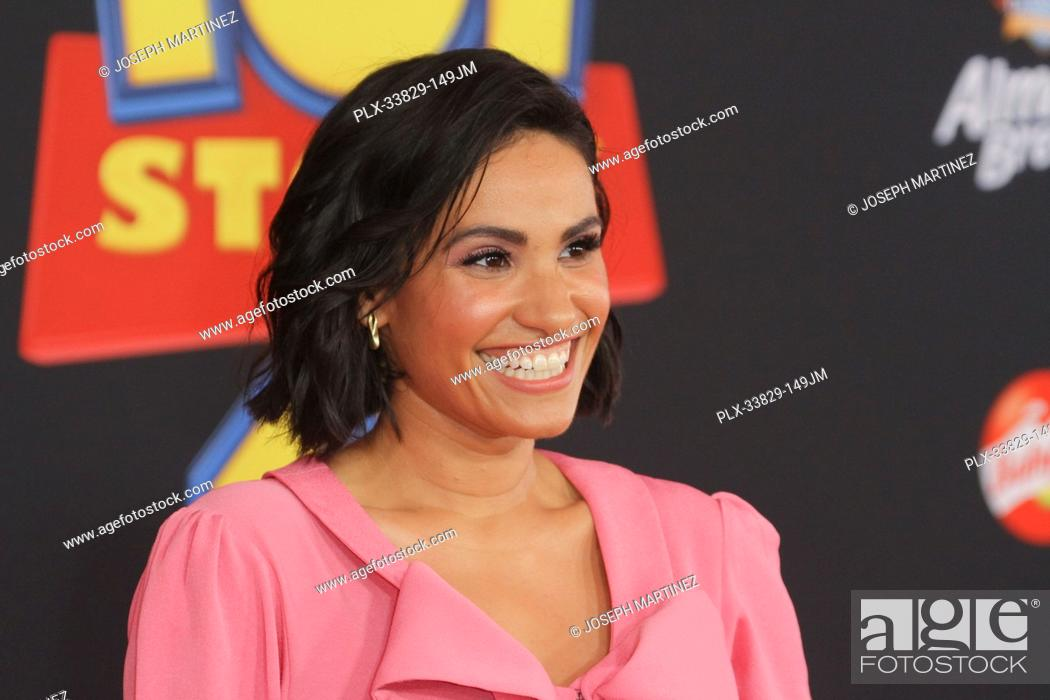 "Stock Photo: Tiffany Smith at Disney/Pixar's """"Toy Story 4"""" World Premiere held at El Capitan Theatre, Hollywood, CA, June 11, 2019. Photo Credit: Joseph Martinez /."