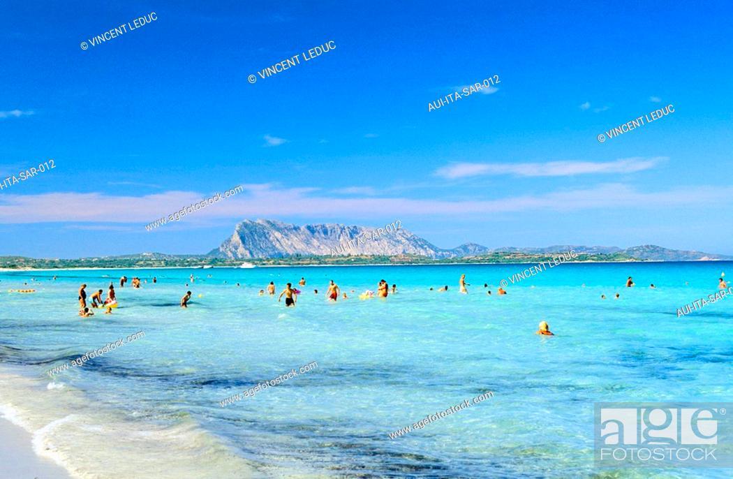 Stock Photo: Italy - Sardinia - North Region - East - Cinta Beach.