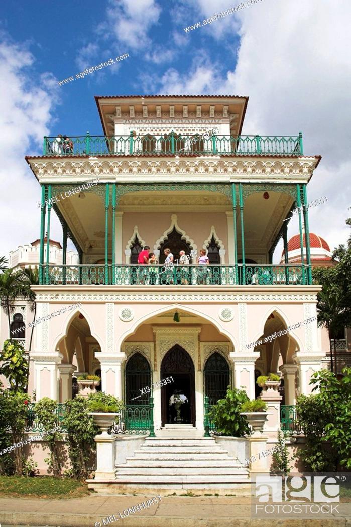 Stock Photo: Palacio de Valle, Cienfuegos, Cienfuegos Province, Cuba.