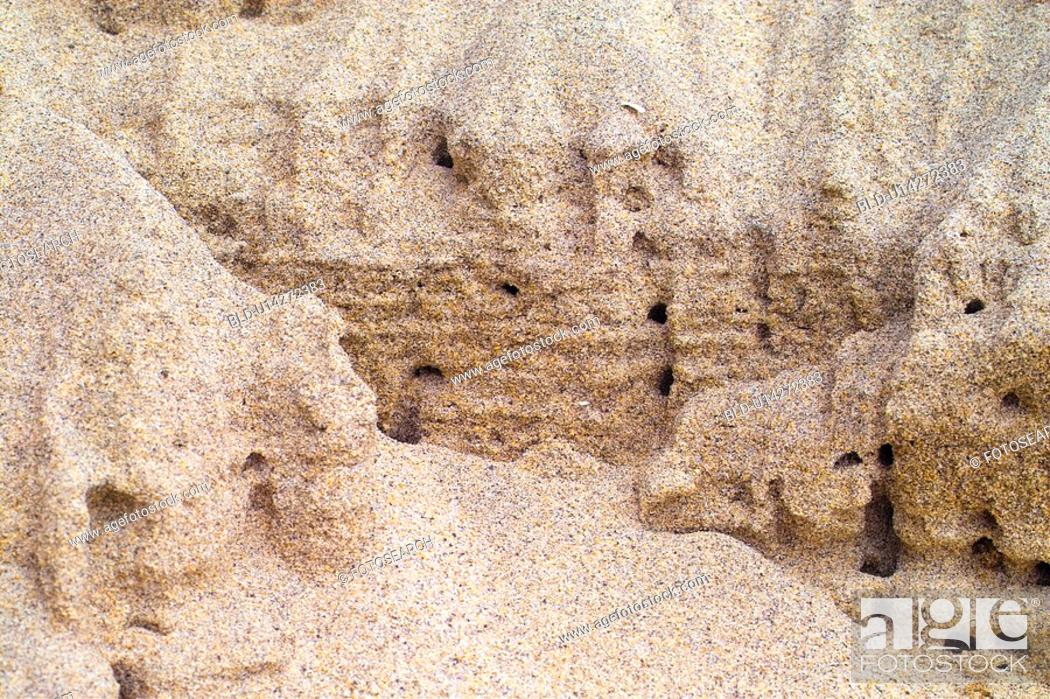 Stock Photo: beach, sea, landscape, scenery, sand, natural.