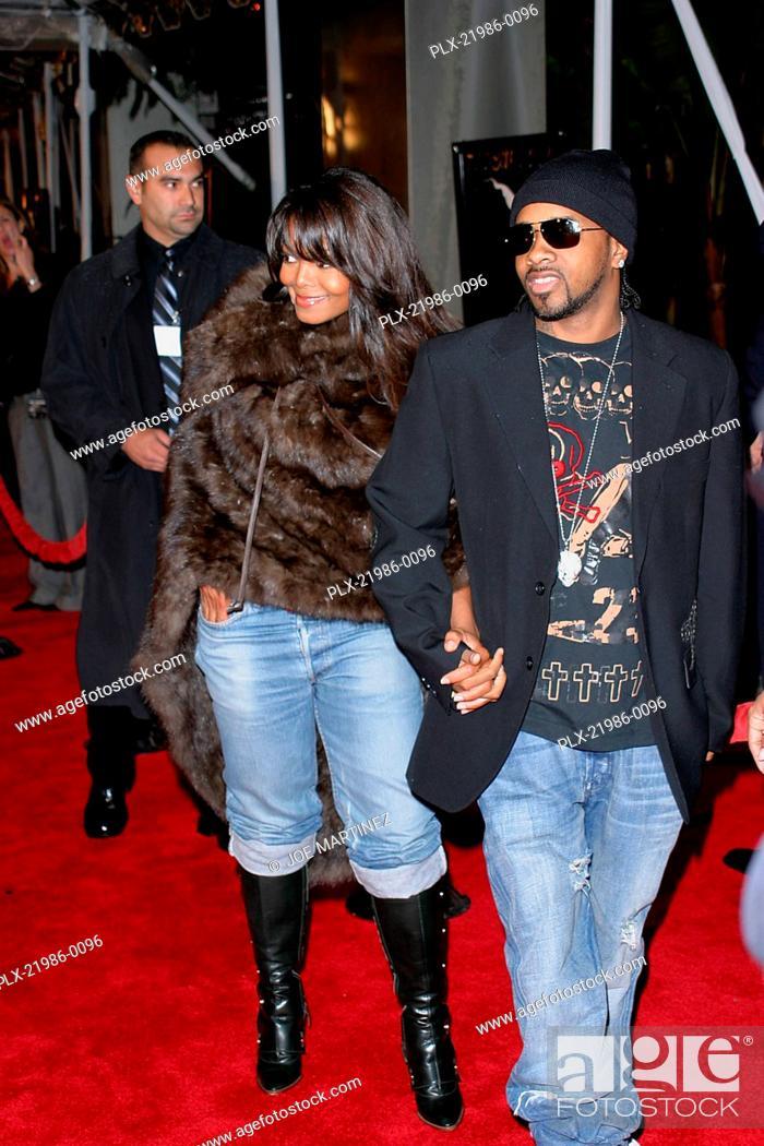 Stock Photo: Ray Premiere Janet Jackson, Jermaine Dupri October 19, 2004 Photo by Joe Martinez.