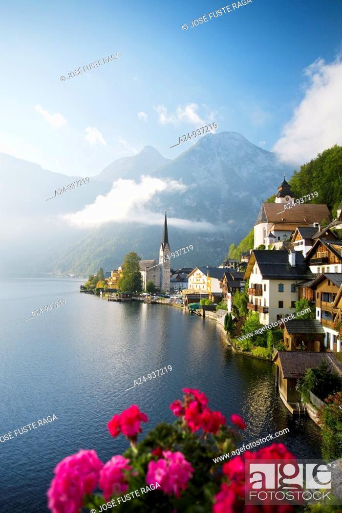 Stock Photo: Hallstatt, Austria.