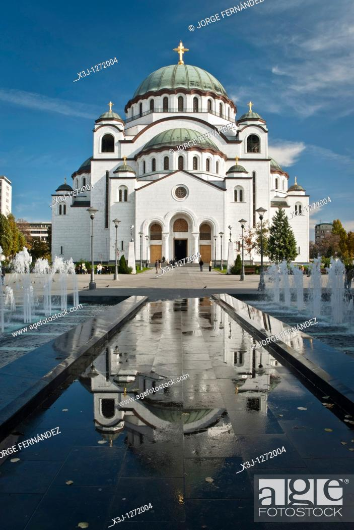 Imagen: Cathedral of Saint Sava, Beograd, Serbia, Europe.