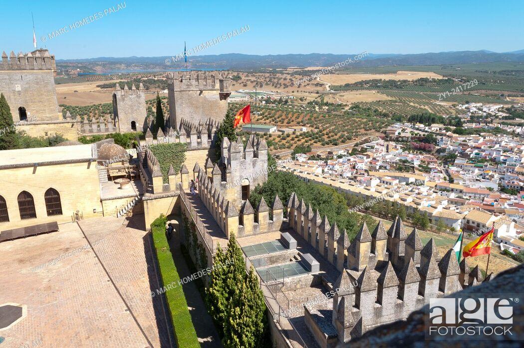 Stock Photo: Castle de Almodovar del Rio (Cordoba, Spain).