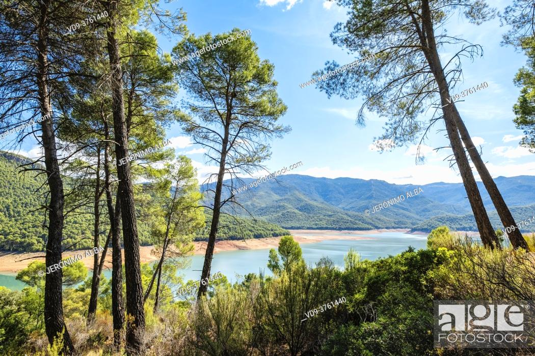 Imagen: Natural landscape at El Tranco reservoir, Sierra de Cazorla, Segura and Las Villas Natural Park, Jaen province, Andalusia, Southern Spain Europe.