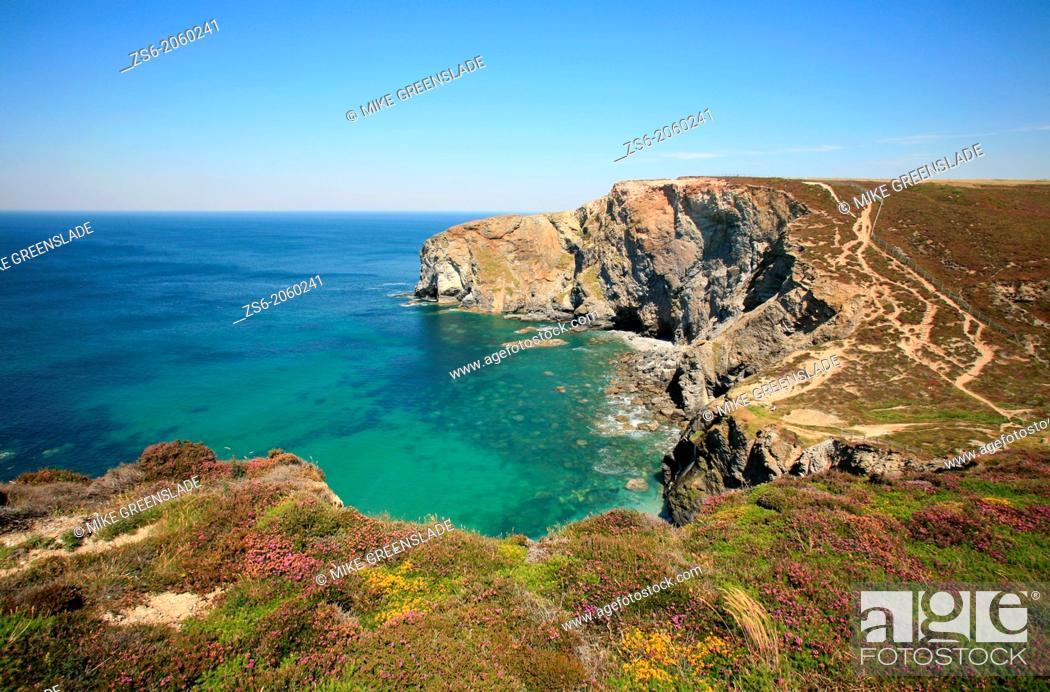 Imagen: South West Coast Path, St Agnes, Cornwall, UK.