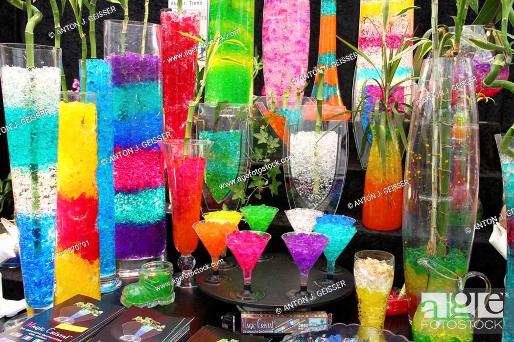 Stock Photo: Multicolored Glasses.