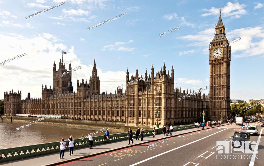 Stock Photo: Big Ben, Westminster, London, england.