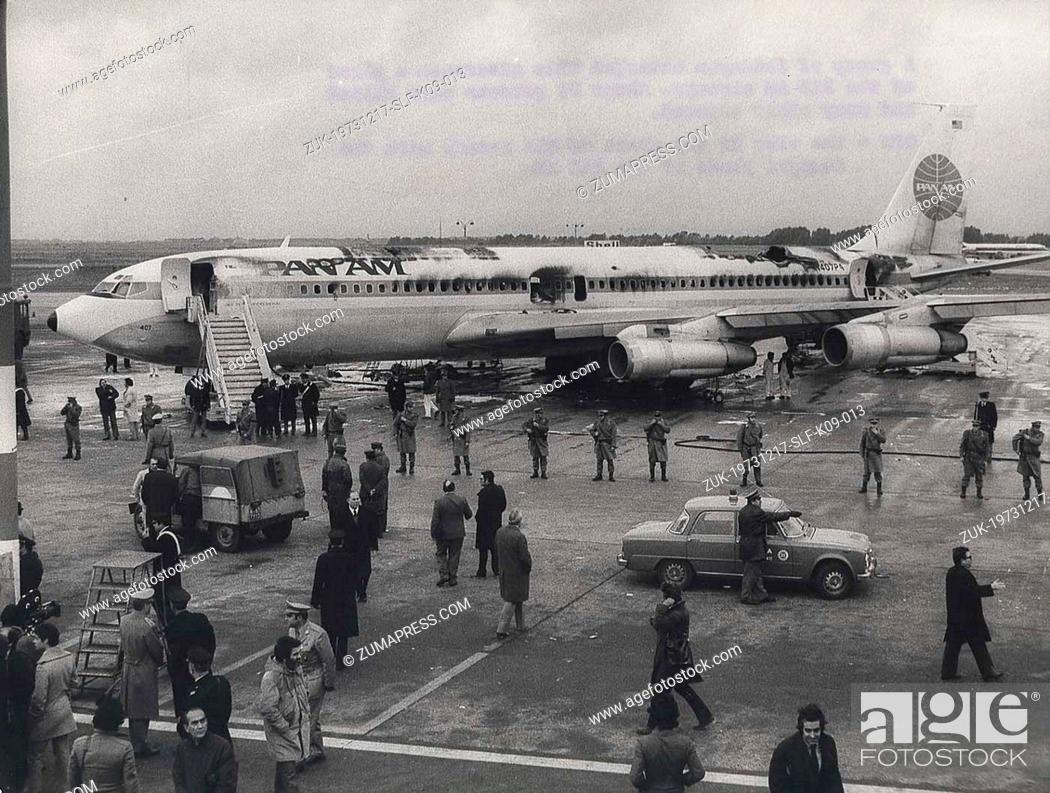 1973 Rome airport attacks and hijacking
