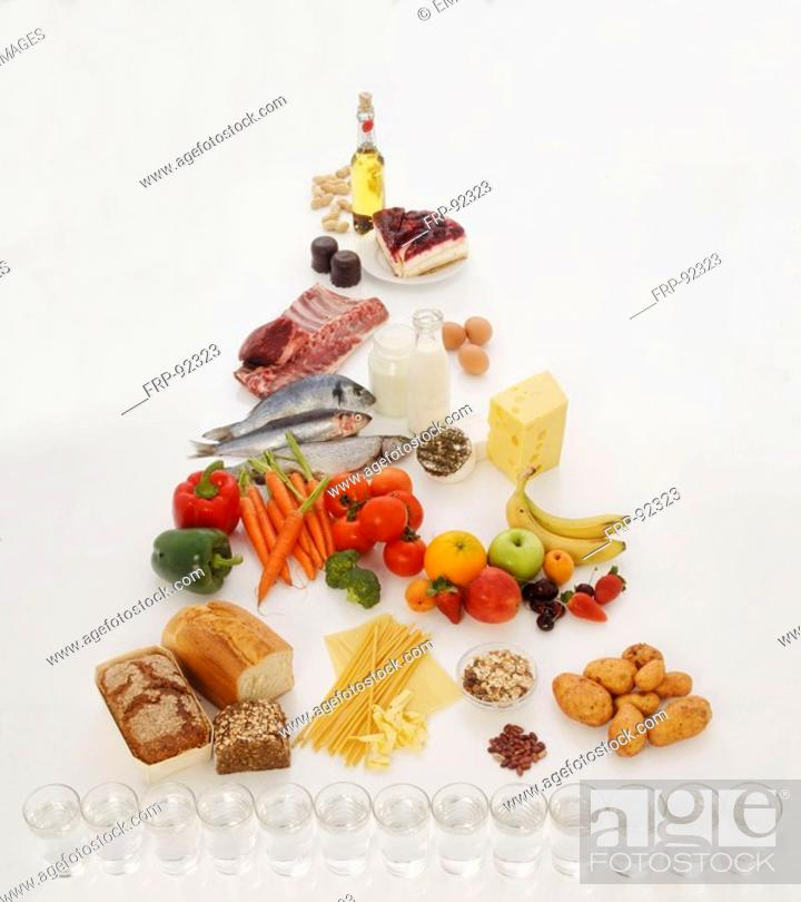 Stock Photo: Healthy diets.