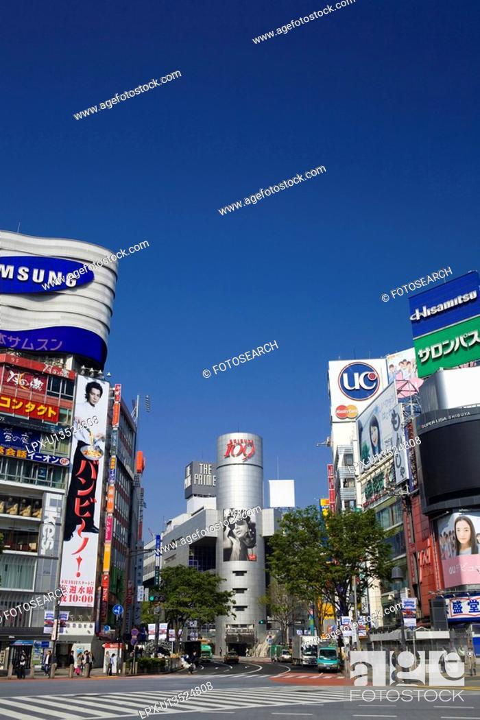 Stock Photo: Shibuya.