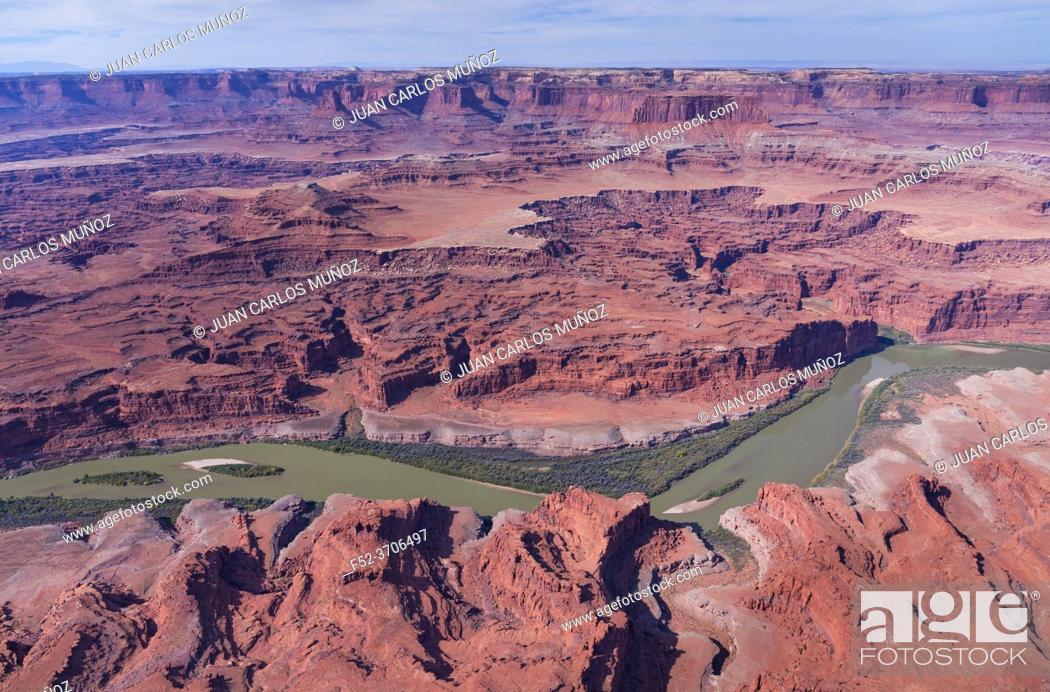 Imagen: Aerial View, Canyonlands National Park, Utah, Usa, America.