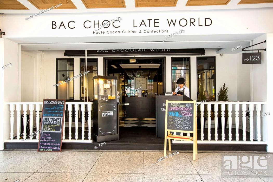 Stock Photo: BAC ChocolateWorld.