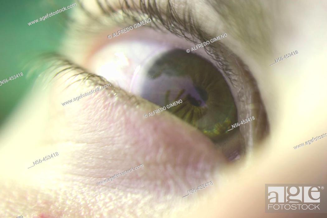 Stock Photo: Eye.