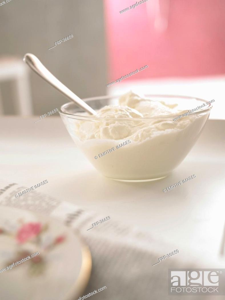 Stock Photo: cream.