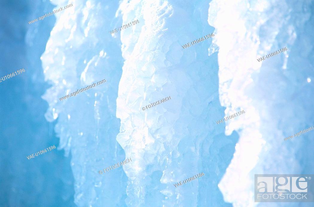 Stock Photo: Ice Crystals.