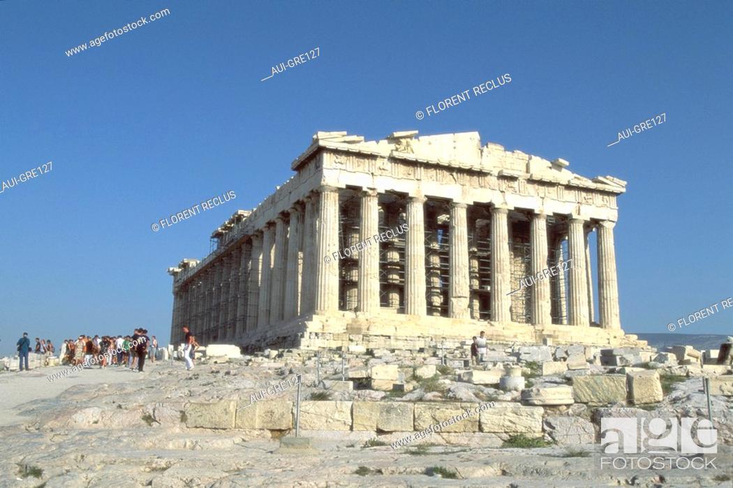 Stock Photo: Greece - Athens - Parthenon.