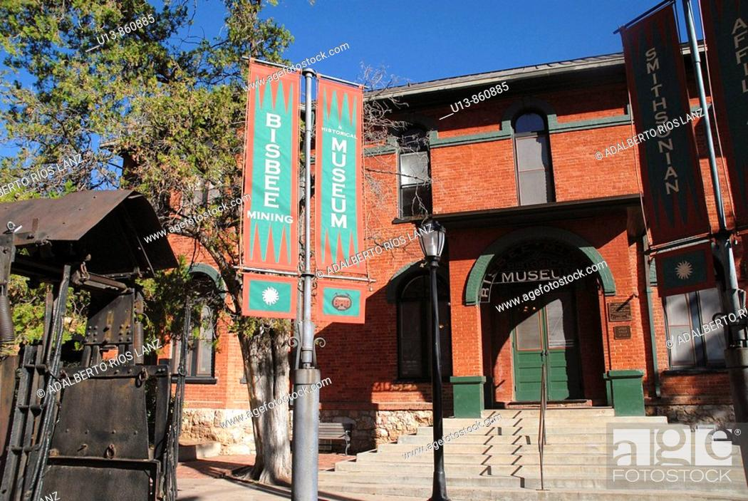 Stock Photo: Bisbee Museum, Arizona, United States.