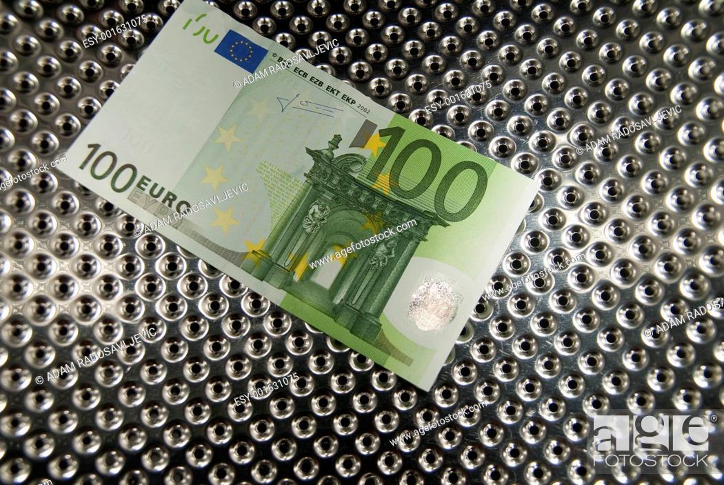 Stock Photo: Money Laundering.