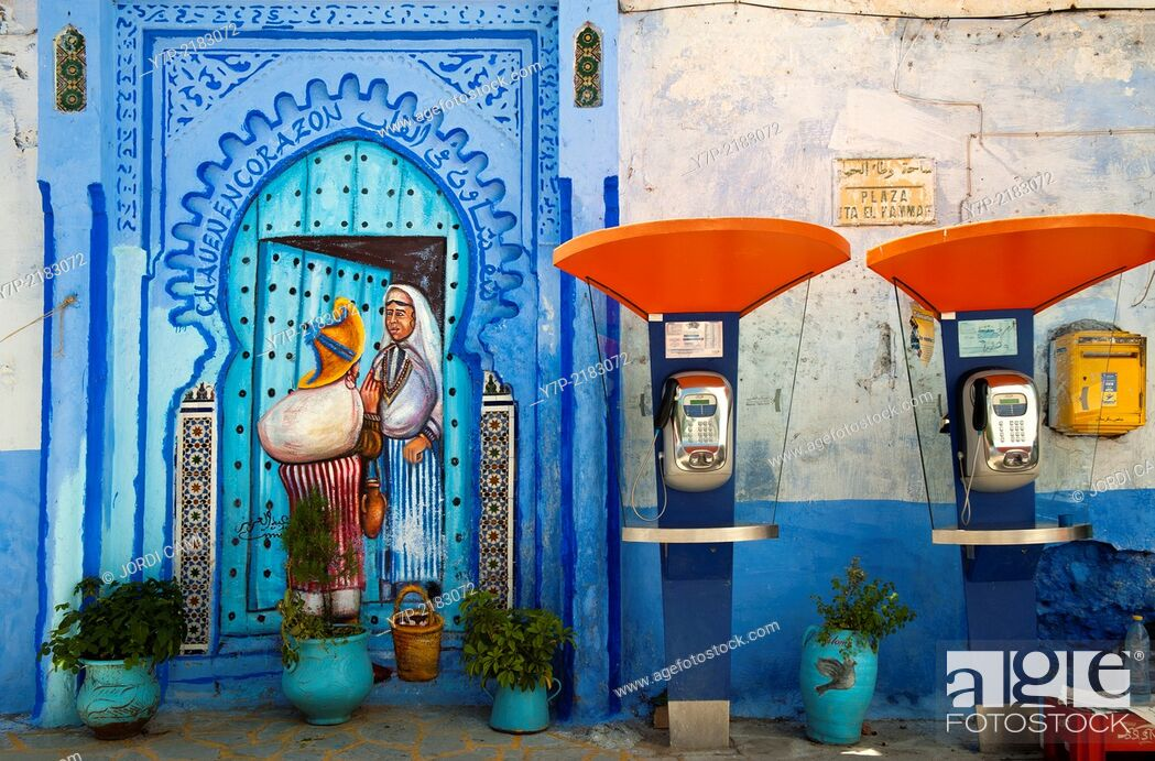 Stock Photo: Chefchaouen, Rif region. Morocco.North Africa.