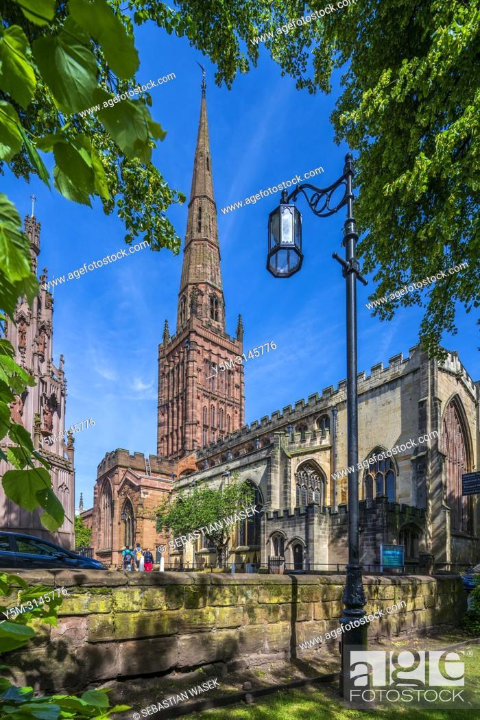Stock Photo: Holy Trinity Church, Coventry, West Midlands, England, United KIngdom, Europe.