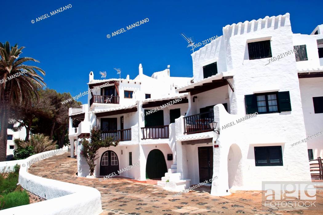 Stock Photo: Binibeca Vell, Menorca.