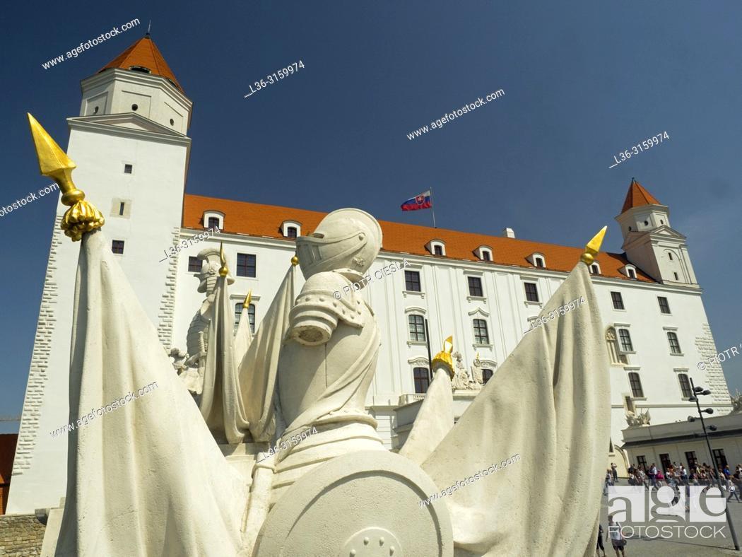 Stock Photo: The Castle. Bratislava, Slovakia.