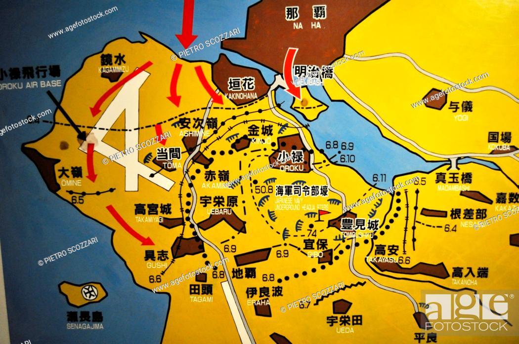 Bases In Okinawa Japan Map.Okinawa Japan Map Of Naha S American Invasion At The Tomishiro