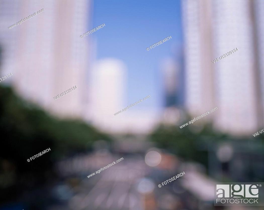 Stock Photo: Skyscrapers.