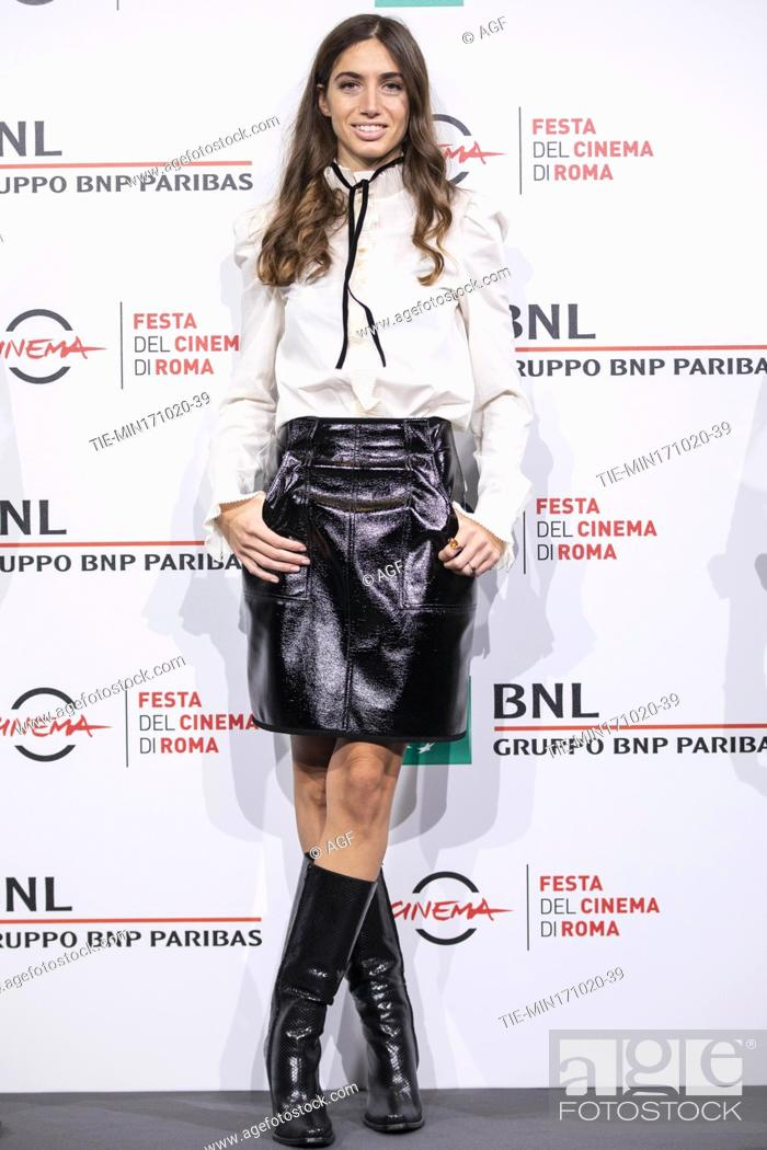 "Stock Photo: Virginia Valsecchi attends the photocall of the movie """"Mi chiamo Francesco Totti"""" during the 15th Rome Film Festival on October 17, 2020 in Rome, Italy."
