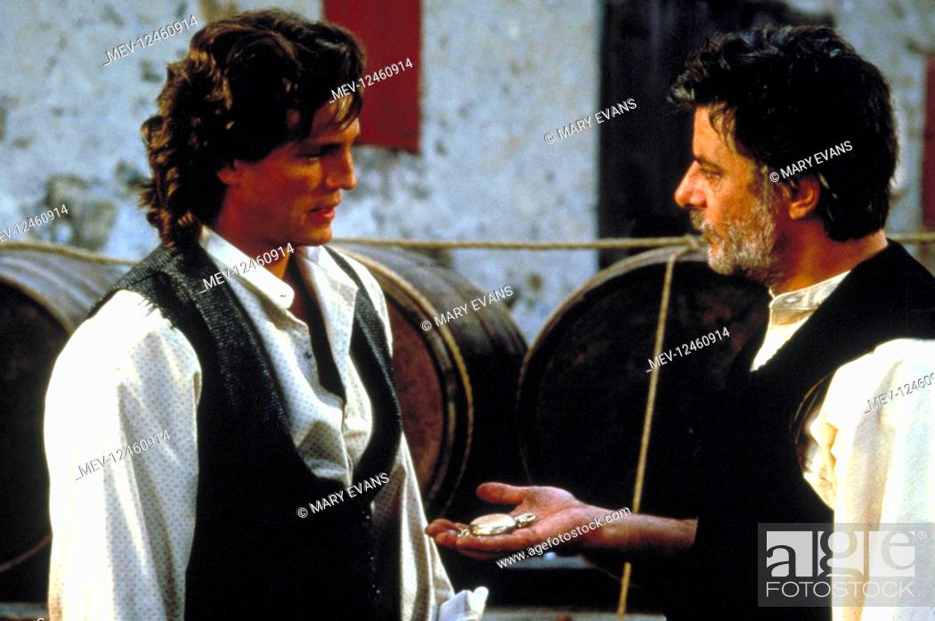 Stock Photo: Eric Roberts & Giancarlo Giannini Characters: Marco Collogero, Sebastian Collogero Film: Blood Red (1989) Director: Peter Masterson 18 August 1989.
