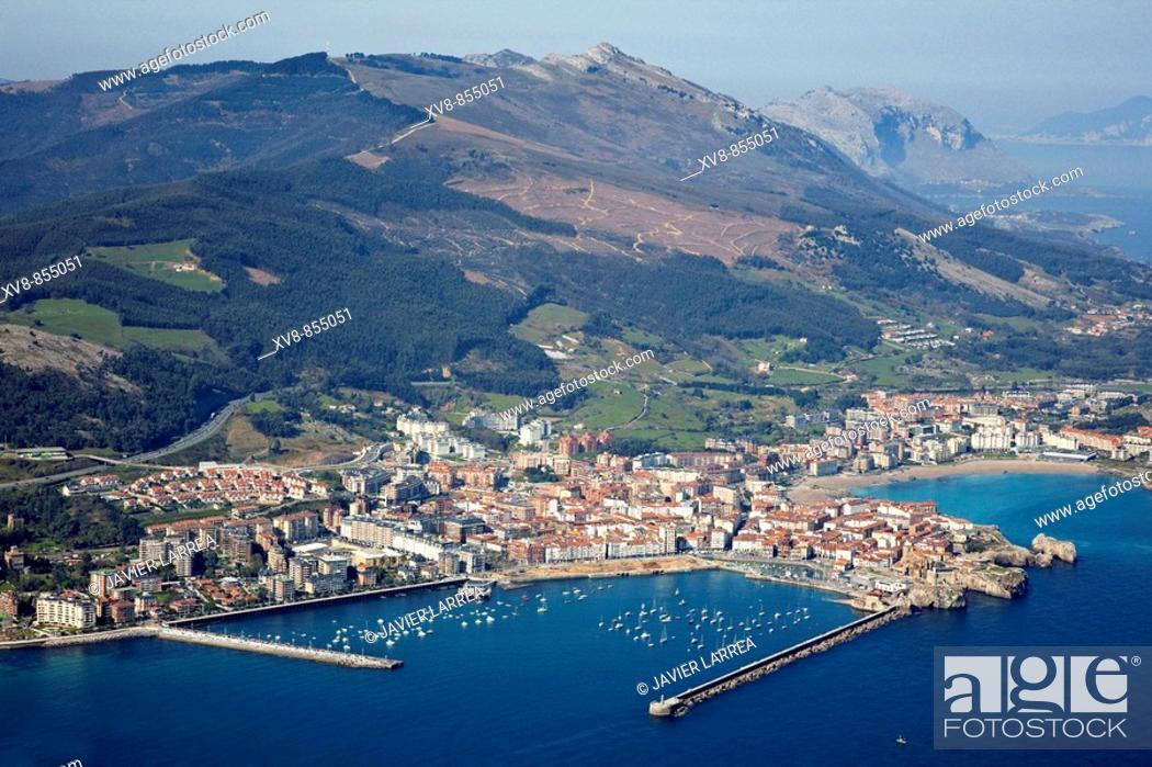 Stock Photo: Castro Urdiales, Cantabria, Spain.