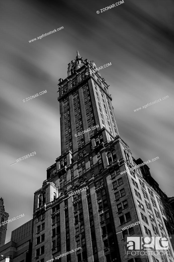 Stock Photo: New York City - USA - DEC 17 2018: The Sherry-Netherland hotel overlooks Central Park from 5th Ave., and is located across the street from the subway and Grand.