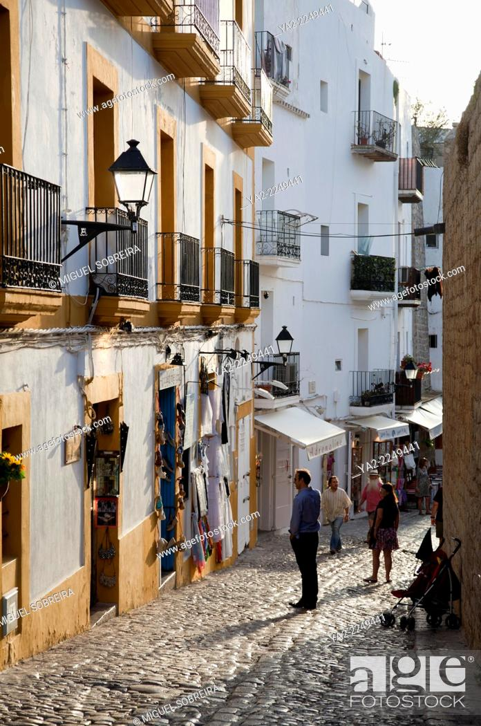 Imagen: Dalt Vila Ibiza Old Town - Ibiza.