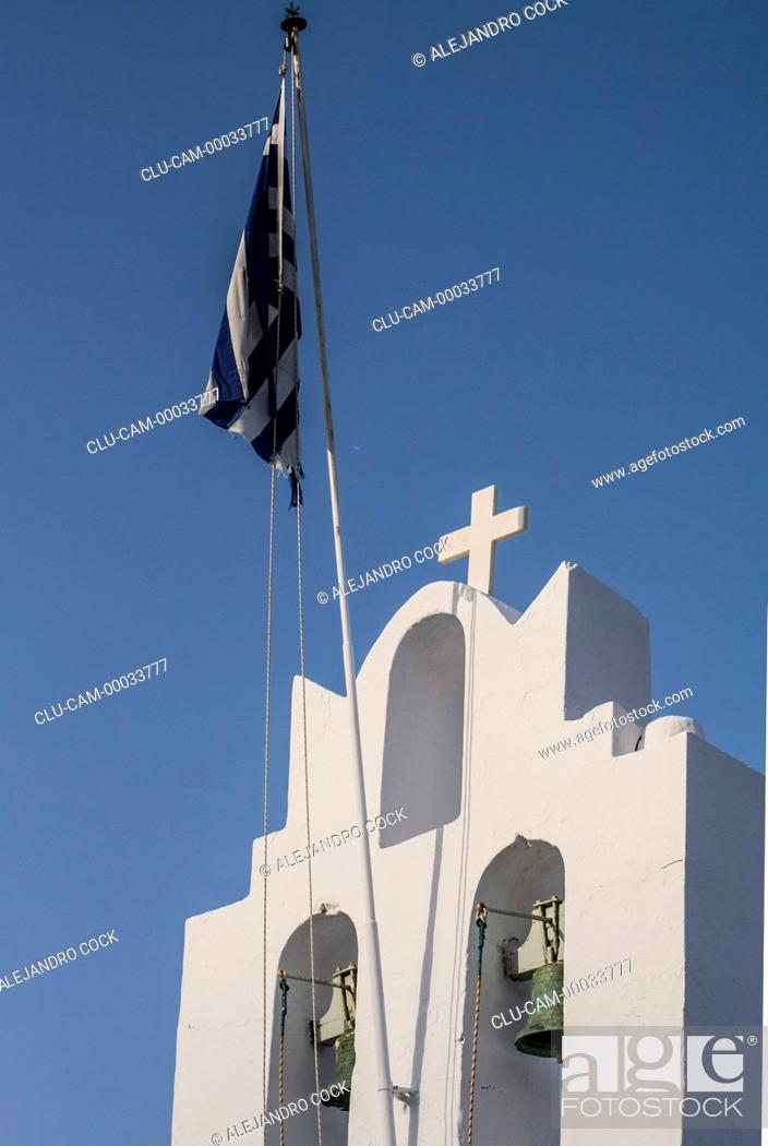Stock Photo: Chryssopighi Monastery, Sifnos, Kastro, Islands of Ciclades, Greece, Western Europe.