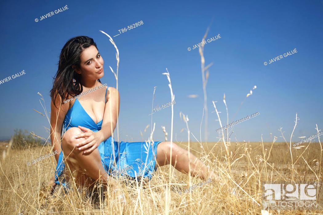 Stock Photo: Sexy woman.