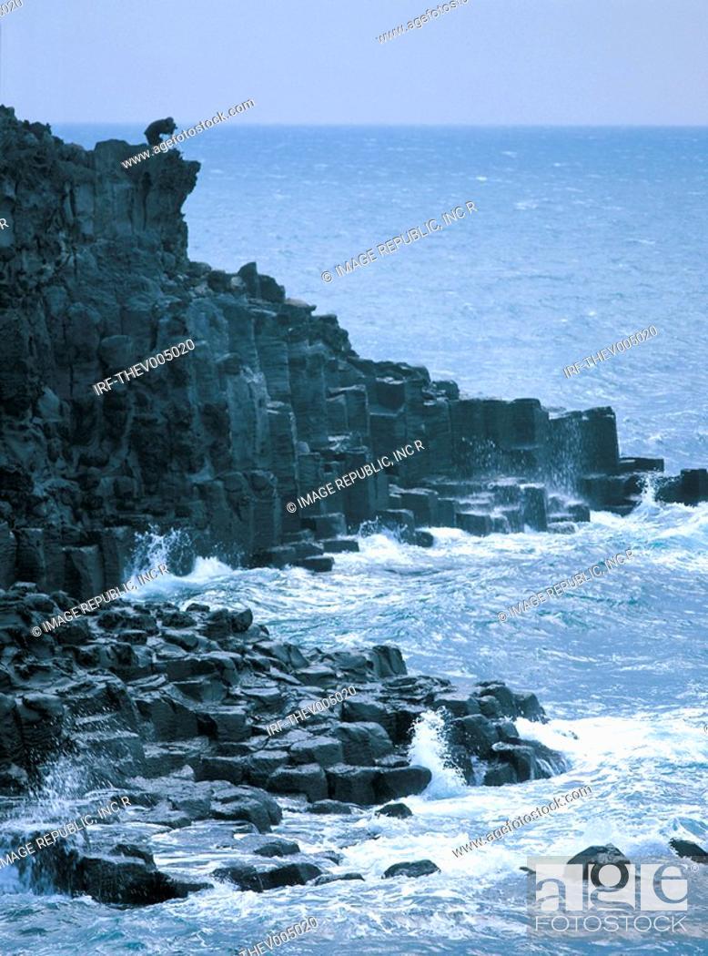 Stock Photo: sea line.