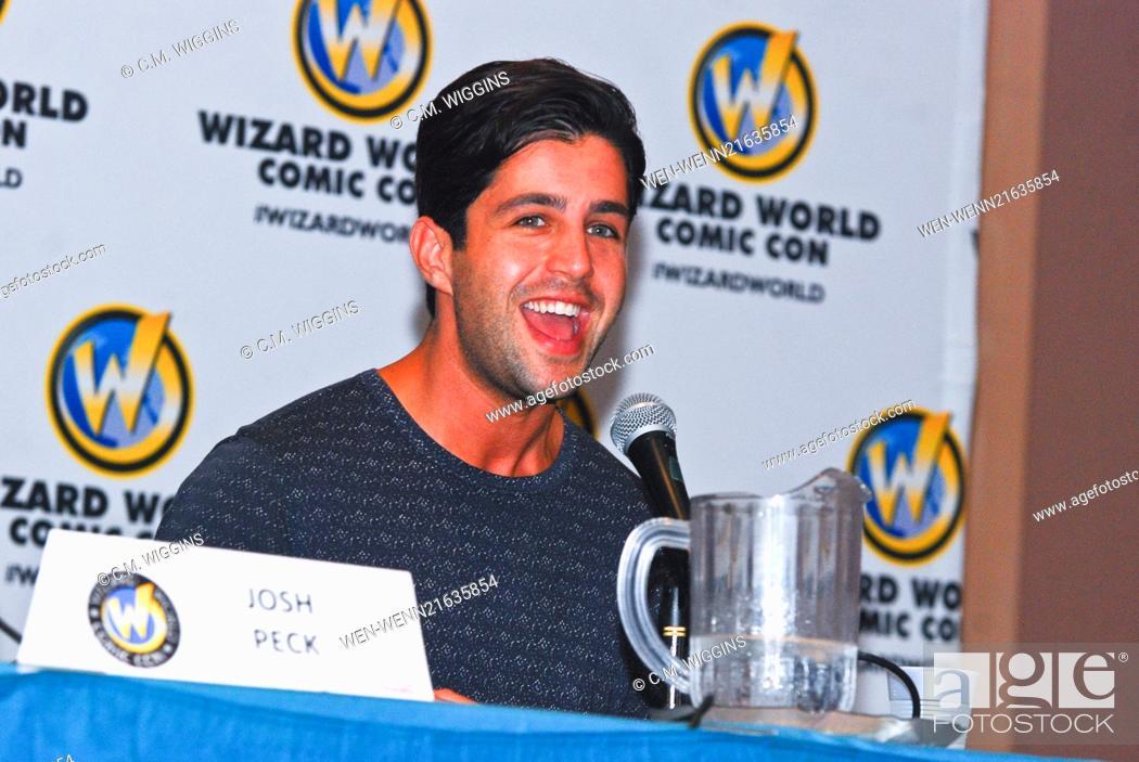 Stock Photo: Wizard World Chicago Comic Con 2014 Day 2 Featuring: Josh Peck Where: Rosemont, Illinois, United States When: 22 Aug 2014 Credit: C.M. Wiggins/WENN.